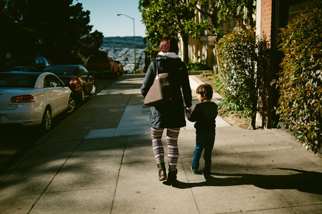 san francisco road trip family first